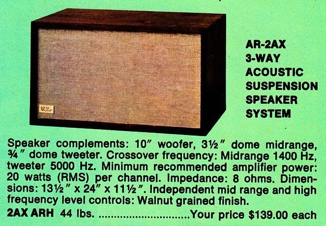 Acoustic Research Ar-2ax specs speaker AR2ax review.jpg