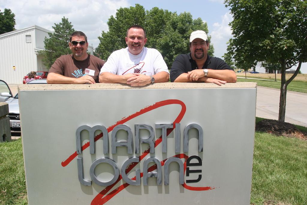 Tim, DRB, Tom Martin Logan sign.JPG
